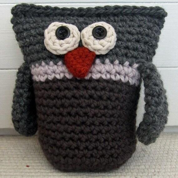 Crochet Pattern for Ollie Owl Doorstop