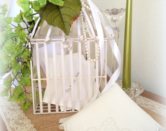 White  Handkerchief,  Vintage Linen Hanky,  Punch Work Hanky, Keepsake Handkerchief, Wedding Hankie, Bridesmaids Gift Mother of the Bride