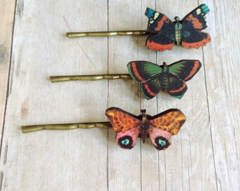 Butterfly Hair Accessory Woodland
