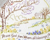 Praise God - Spring - Complete Embroidery KIT