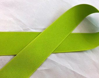 Lime 1 1/2 inch Grosgrain Ribbon