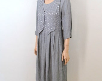 80's Dress 90's Dress 90's Grunge Dress Oversized Minimalist Slouchy Dress Boho Dress Festival Dress Minimalist Dress 90's Revival Dress H