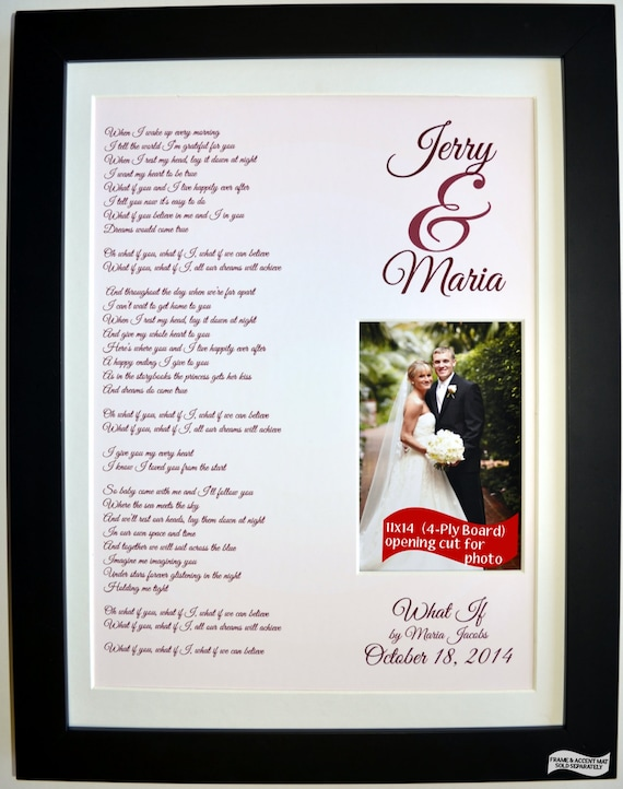 St first anniversary paper gift for husband and wife by