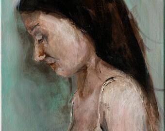 Heavier Days. Giclee Art Print, 5 x 7 art print, britney jette
