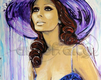 Sophia Loren, ArtPrint
