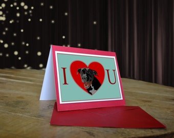 Dog Valentine Pit Bull Pibble