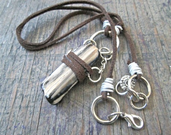 Petrified Wood Jewelry - Petrified Wood Necklace - Natural Boho Jewelry - Earthy Necklace - Bohemian Necklace - Hippie Jewelry