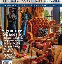 Magazine: Where Women Create Magazine from Stampington and Company Autumn 2014