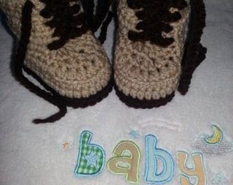 Baby Boy Combat Boots