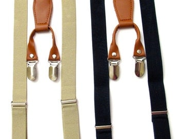 Baby Boy Suspenders,baby boy suspenders, toddler suspenders, boy suspenders, Black, Khaki adorable Khaki Suspenders