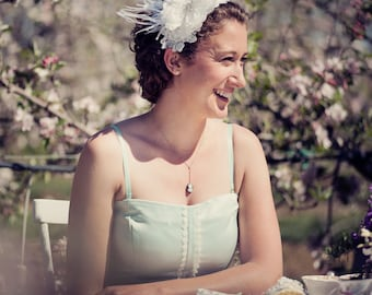 Mathilde Hair Piece for Races, Bride, Bridesmaids, Mother of the Bride