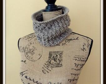 Textured Cowl - Crochet Pattern