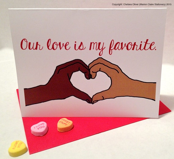Interracial e cards