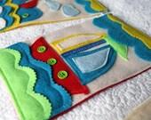 Nautical Sailor Banner, Baby Boy Nautical Nursery,  Felt Bunting Banner, Nautical Kids Room Decor, Nautical Baby Boy Shower, NAUTICAL