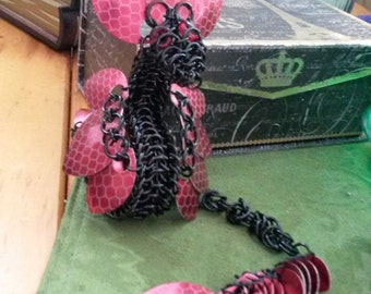 Chainmaille Dragon Sculpture