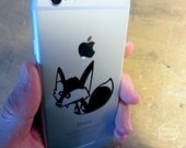 Sweet little fox vinyl decal to add more whimsy to your every day life