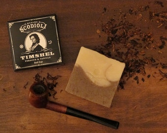 REFORMULATED • Timshel Soap Bar - Tobacco & Vanilla