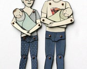 Newborn Baby (add to your custom paper doll order)