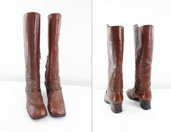 60s boots size 7 vintage gogo boots 60s mod by starletvintage