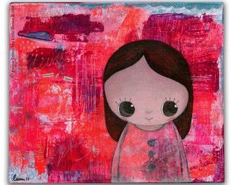 Art for kids room- girls room decor- childrens prints