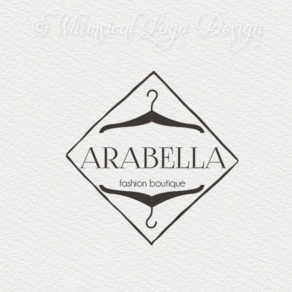 Clothing Design Name Ideas Premade Logo Design Fashion Logo And Watermark Design Vintage Logo