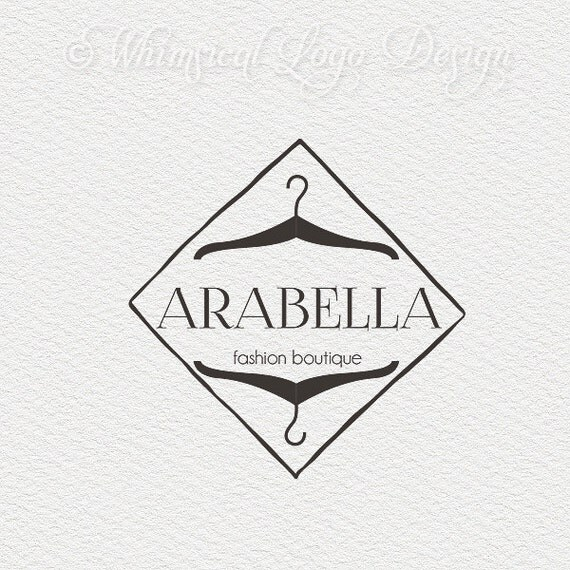 premade logo design fashion logo and watermark design vintage