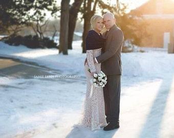 Navy Blue Wedding Shawl Bridesmaids Shawl Stole Shoulder Cover Wedding Shawl Winter Wedding Fall Wedding Shoulder Wrap Shrug Crochet Knit