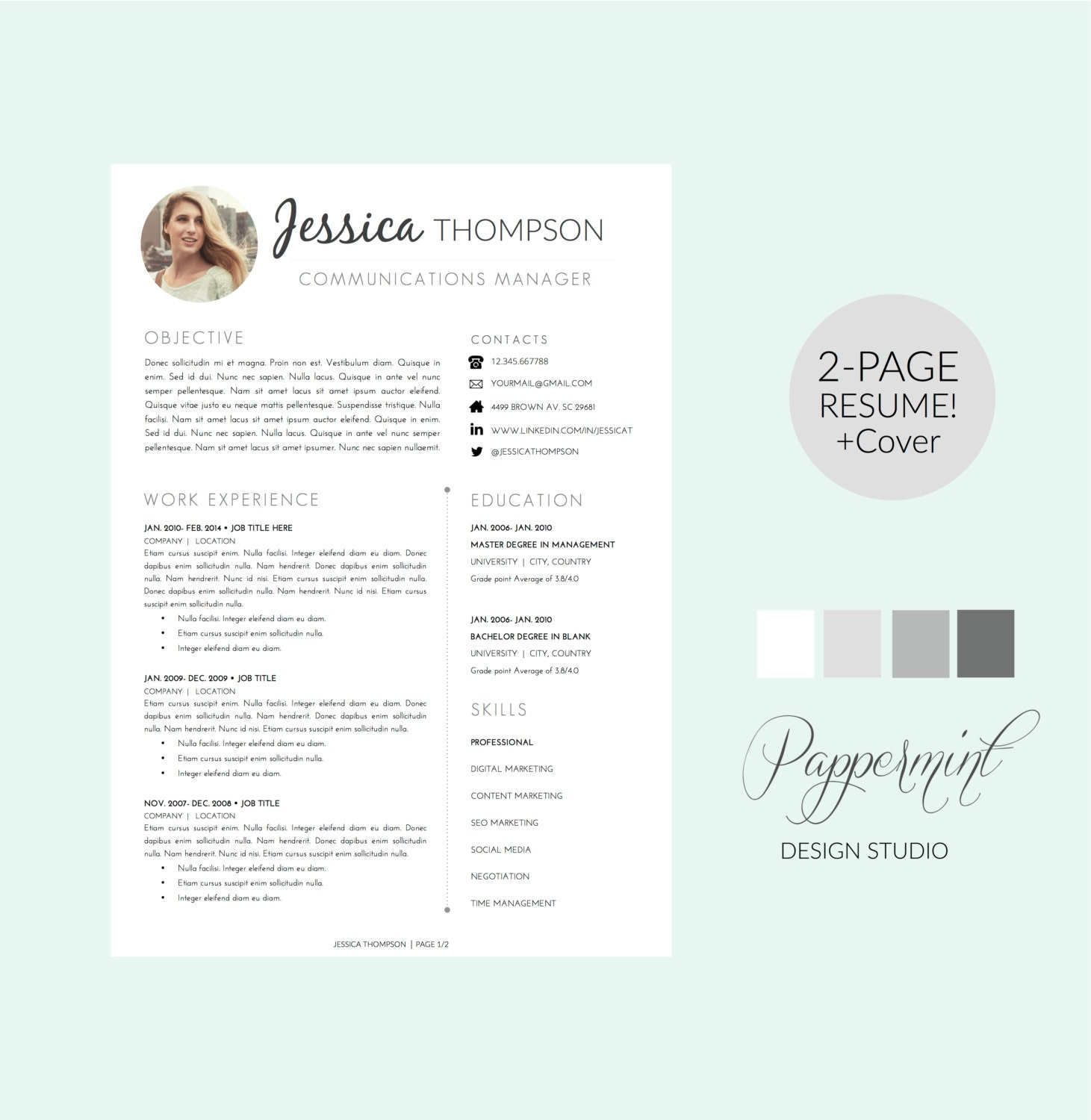 can a resume cover letter be two pages Is a two-page resume ever ok was originally published on the muse for more on perfecting your resume, check out: how to add experience to your resume (without adding a page.