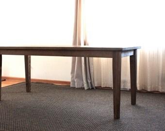 rustic farmhouse dining table barn wood table rustic kitchen table 27 - Barnwood Kitchen Table