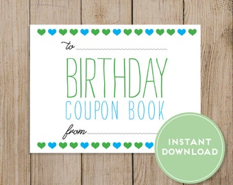 Wife coupon book gift