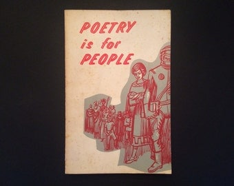 1964 Poetry is for People Vintage Book