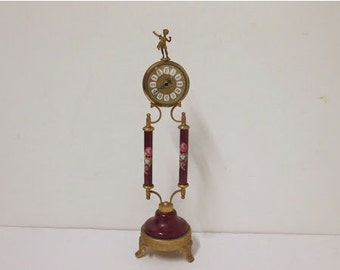West German Classical Table Clock