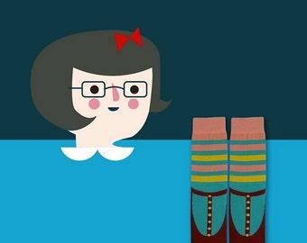 Mary Jane sock