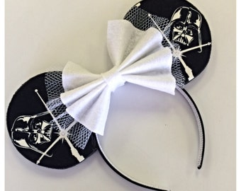 Darth Vader Custom Mouse Ears