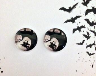 Sleepy Hollow post earring set