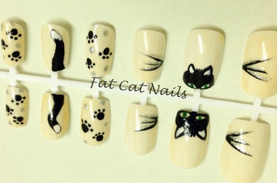 Fat Cat Fake Nail Set