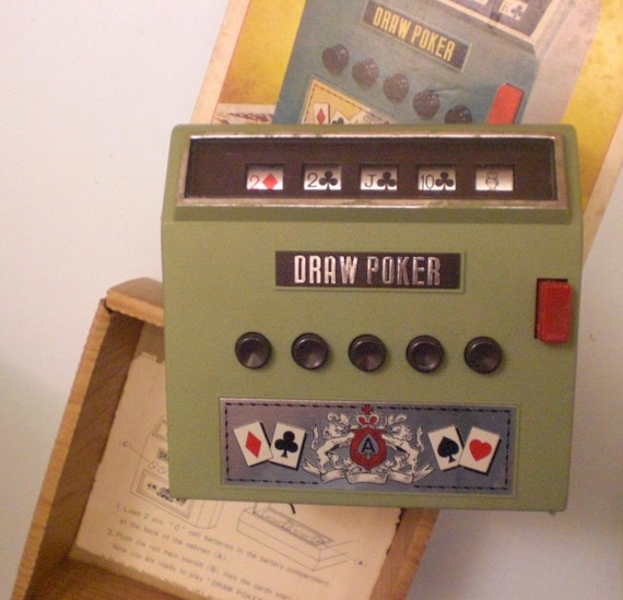 how to play draw poker machines
