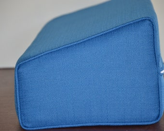 Daybed Wedge Bolster Cover Pacific Blue
