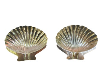 Mexican Sterling Silver Ashtrays, Set of 2