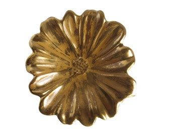 Stangl Gold Cosmos Dish