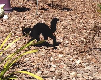 black cat cat halloween decoration black cat yard stake - Halloween Garden Stakes