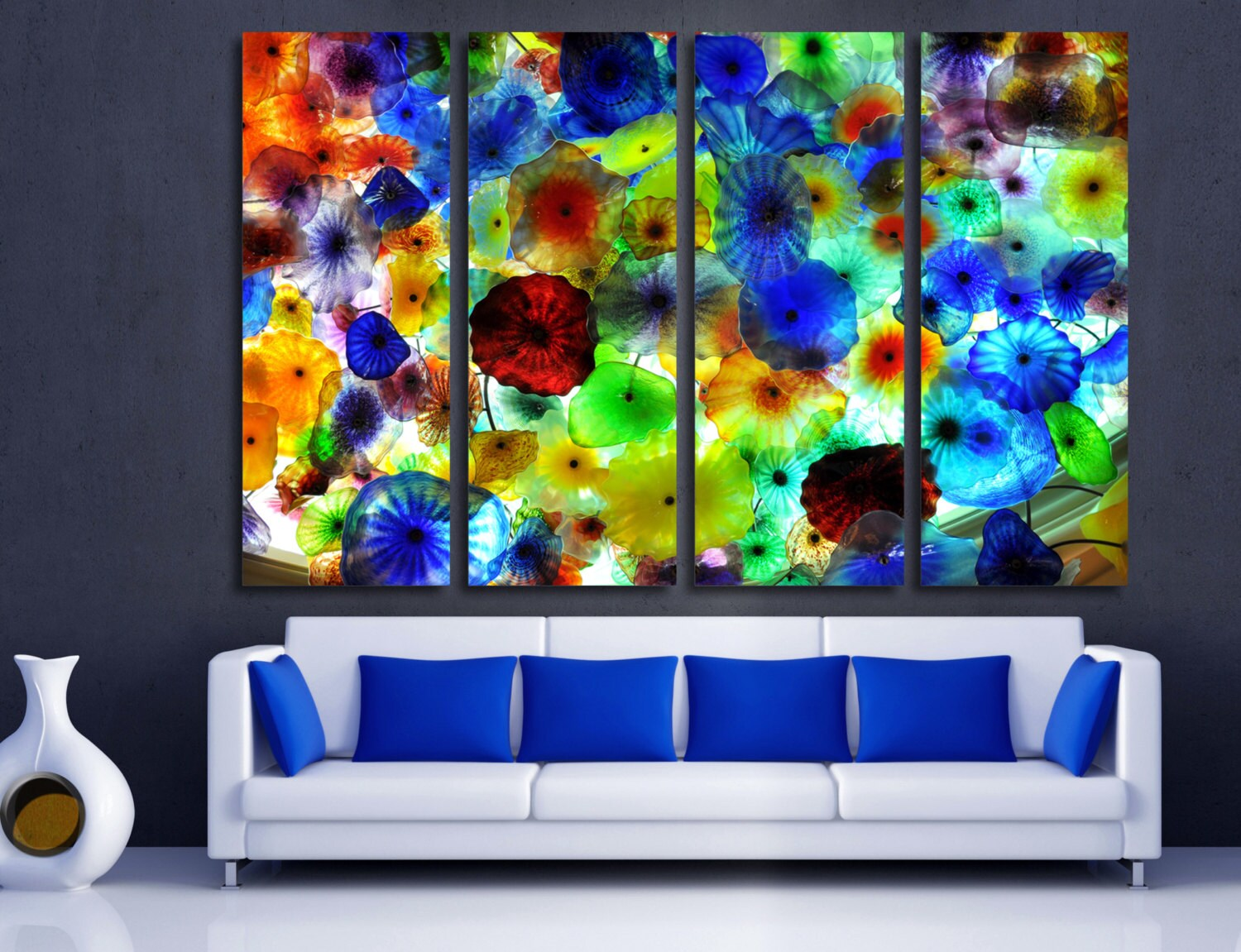 Color art office interiors -  Zoom