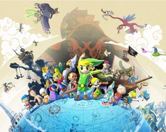 Link Between Worlds Poster