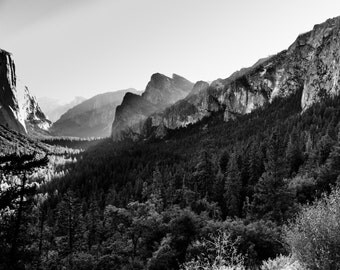 Yosemite Photography, Sunrise over Yosemite Valley, Tunnel View, Vista Point, Landscape Photography, Yosemite Landscape