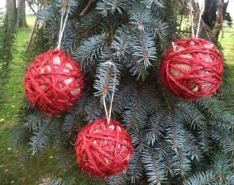Jute String Ornaments