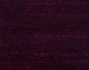 Plum-45 Silk Dupioni Shantung Fabric 100% Polyester for Apparel Home Decor By the Yard