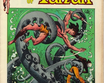 DC Comics Korak Son of Tarzan 1973