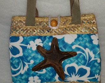 Bahamian Straw Handbag, Straw Hand Bag, Straw Bag, Hand Made Handbag