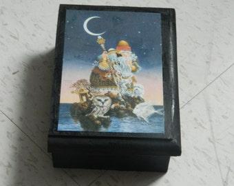 Guardian of the Moon tarot box, jewelry box,