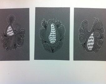 "Zentangle Inspired Art - ""Joy"""